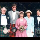SANDRA & GLEN ROSS, ROTHES, BANFFSHIRE, SCOTLAND